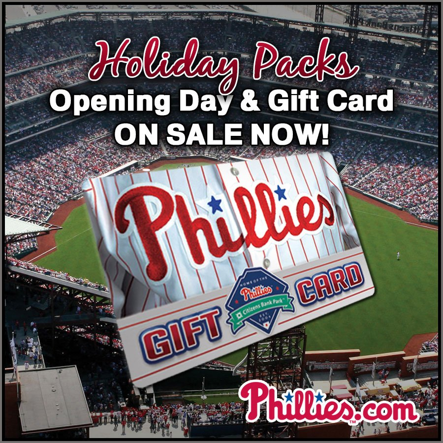 Phillies holiday packs include tickets to the home opener & a ...