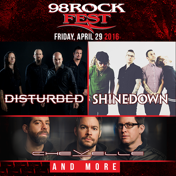 ON SALE NOW - #98ROCKFEST Get your tickets & come rock with @Shinedown @SickPuppies & more! https://t.co/0quE05wgl2 https://t.co/AkYgtFOo8C