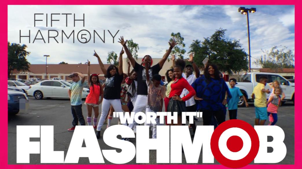 Kicked out of Target for @FifthHarmony #FlashMob #Worthit https://t.co/wXwZXWQwNP …  #FamilyGoals https://t.co/qJz8SLWotU