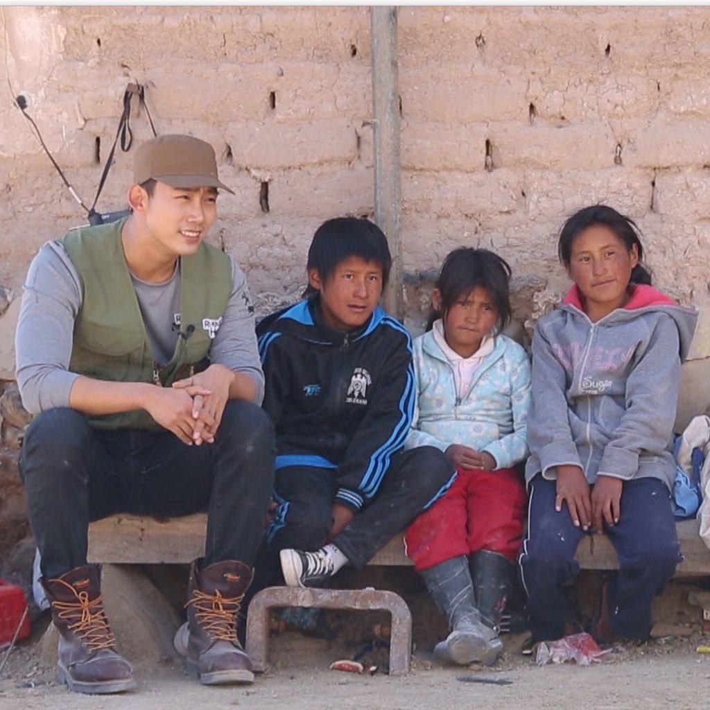 #본방사수 │아동노동으로 고통받는 남미 #볼리비아 아이들에게 사랑과 위로를 전한 #2PM #옥택연 .그 이야기가 오늘(12일) 오후 5시40분 #KBS 1TV 희망로드大장정을 통해 방송됩니다:) https://t.co/tzKkmluD9o