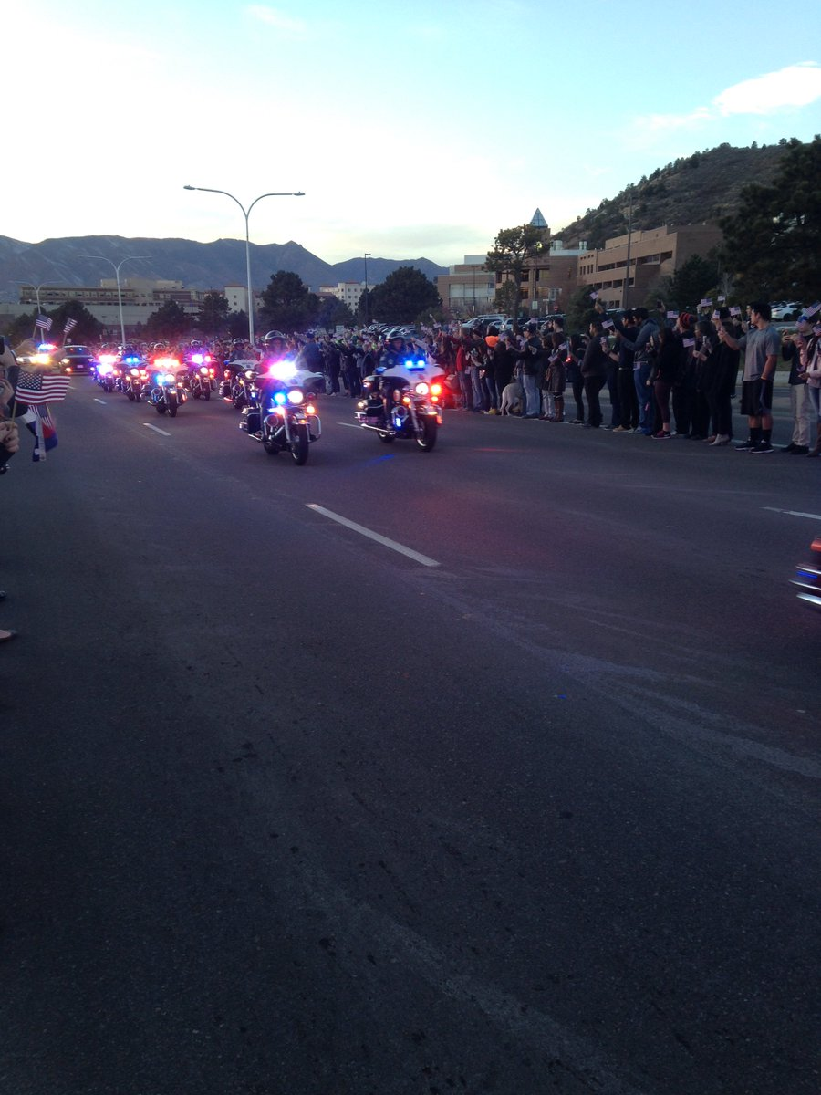 Thank you Officer Garrett Swasey for your dedicated service to our community. You will be greatly missed! #WeAreCOS https://t.co/zUfFE7XDgp