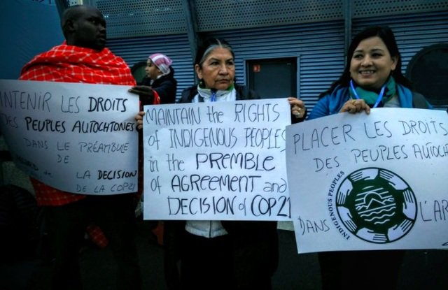 RT @AmazonWatch: #COP21 deal: Indigenous peoples fear rights might be dropped https://t.co/E55zeeka6D https://t.co/6wHC0C6us3