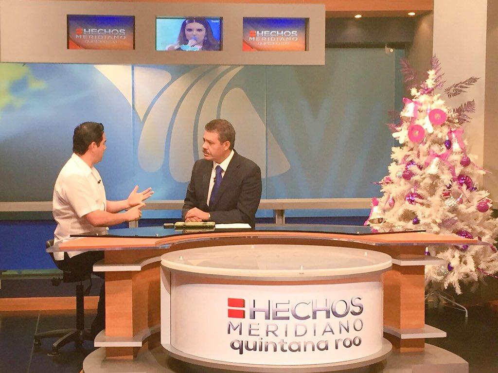 En entrevista en el estudio con @jmartinsamano el Diputado Federal por el D-01 de Quintana Roo @JLToledoM https://t.co/5mBvgQEFDu