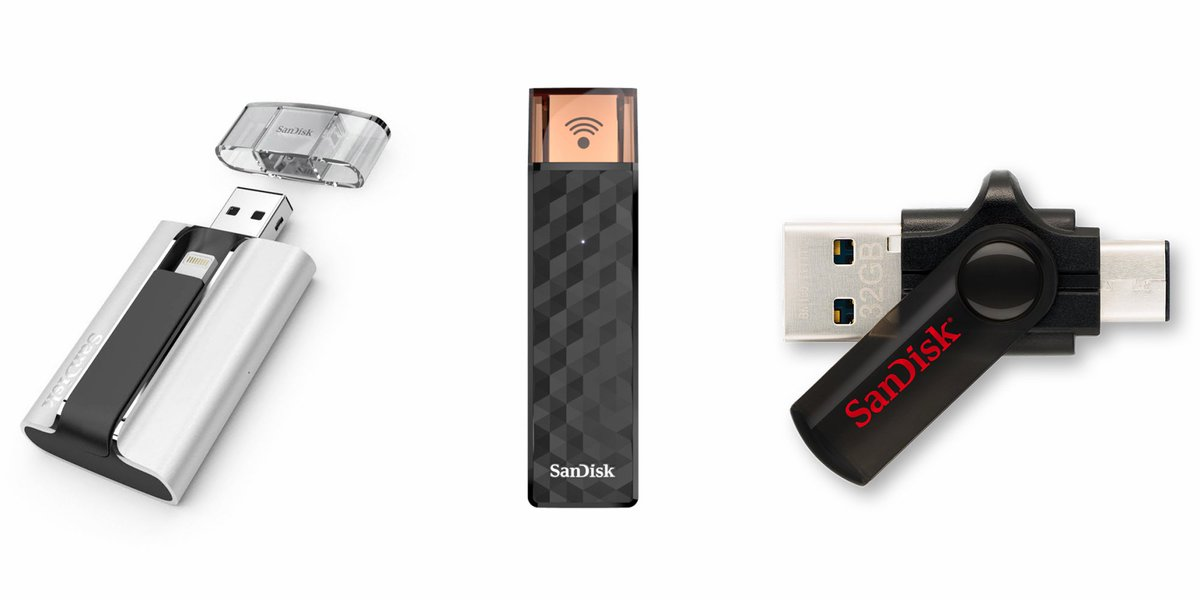 Giveaway: SanDisk USB flash drives for iPhone, iPad, and Android mobile devices https://t.co/C2eLWp0X2e https://t.co/nEvAhkyKIf