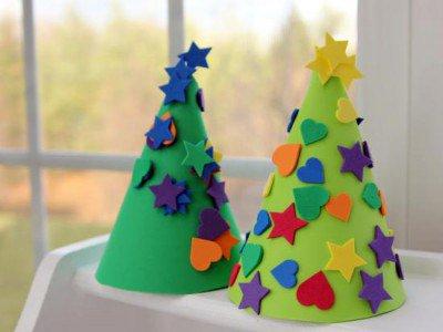 Colección de manualidades navideñas para niños sencillas y divertidas