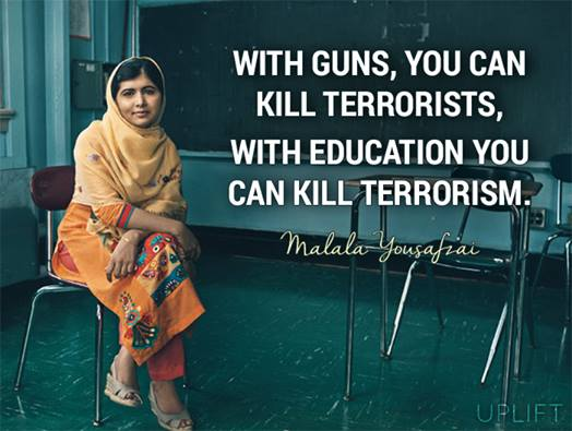 WISDOM! #Malala https://t.co/cTZA2YJ3gx