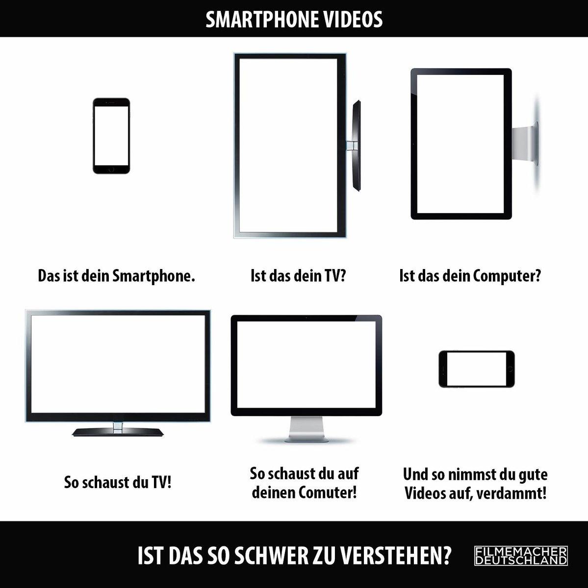 Zum Thema Hochkant Smartphone Videos ! https://t.co/HcQHPpoYGn