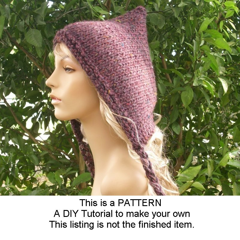 Instant Download Knitting Pattern - Knit Hat Knitting Pattern -… https://t.co/gm9mDgqgPw #pixiebell #PixieHatPattern https://t.co/dTzhIXr9gb