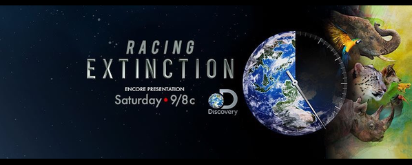 RT @oceanCRIES: Missed the global premiere of #RacingExtinction...        no worries, @Discovery has an encore presentation TONIGHT! https:…