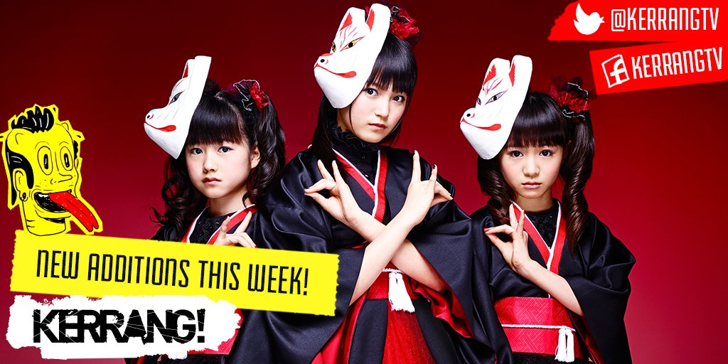 New additions to K! TV this week from @BABYMETAL_JAPAN @Disturbed and @MAXRAPTOR https://t.co/96p5YG5RvF