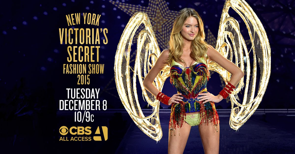 RT @CBS: The #VSFashionShow returns 12/8 at 10/9c. Watch live or stream online w/ CBS #AllAccess. https://t.co/HZdiWdsZFl https://t.co/Ki6E…
