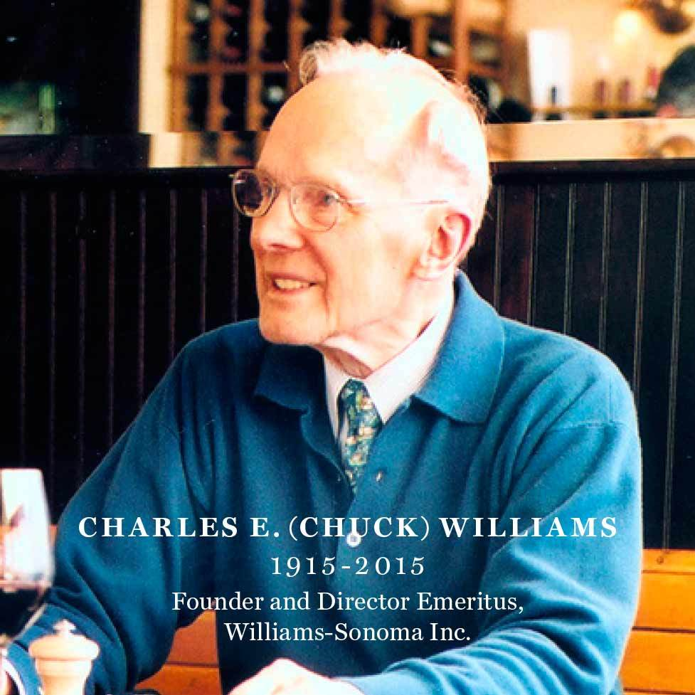 Chuck Williams' spirit will live on forever in our kitchens – and in our hearts. #ChuckWilliams https://t.co/QnmoClr1EY