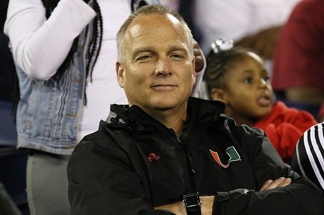 Mark Richt at the FHSAA State Championship game tonight between Raines and BTW https://t.co/CYrVecMrQG