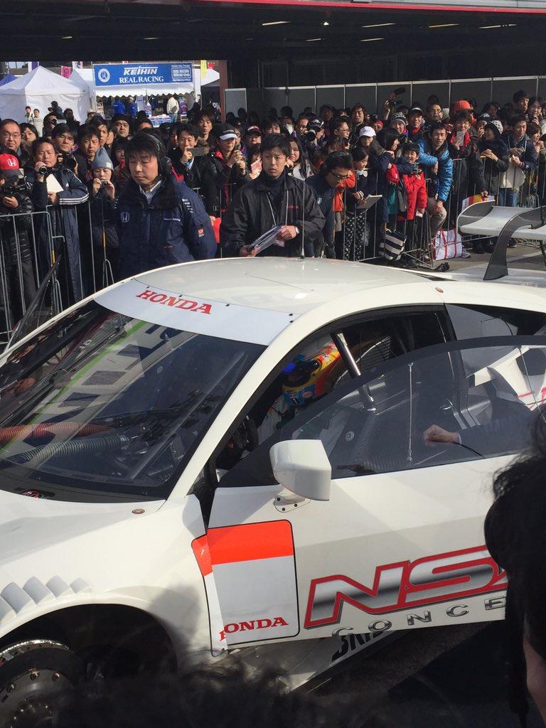アロンソがNSX Concept GTに乗ります! https://t.co/w8BgBHm0NA