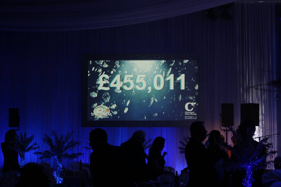 Incredible we have raised a phenomenal £455,011 at tonight's #SnowmanSpectacular. Thank you so so much everyone! https://t.co/4ysJvmvE5R