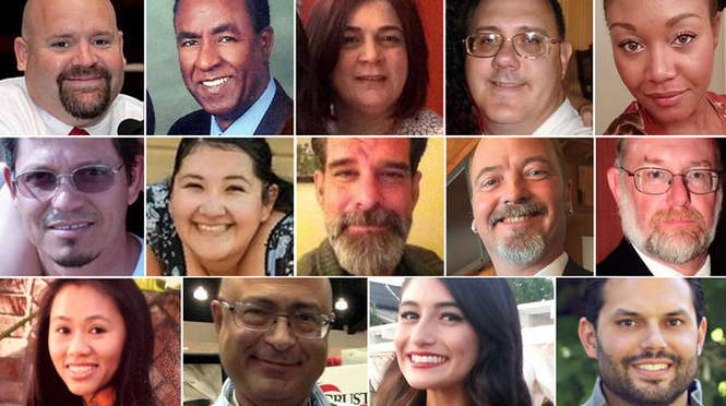 RT @latimes: The youngest was 26. The oldest, 60. The names & stories of the 14 killed in #SanBernardino: https://t.co/7CPpH0V5Zv https://t…