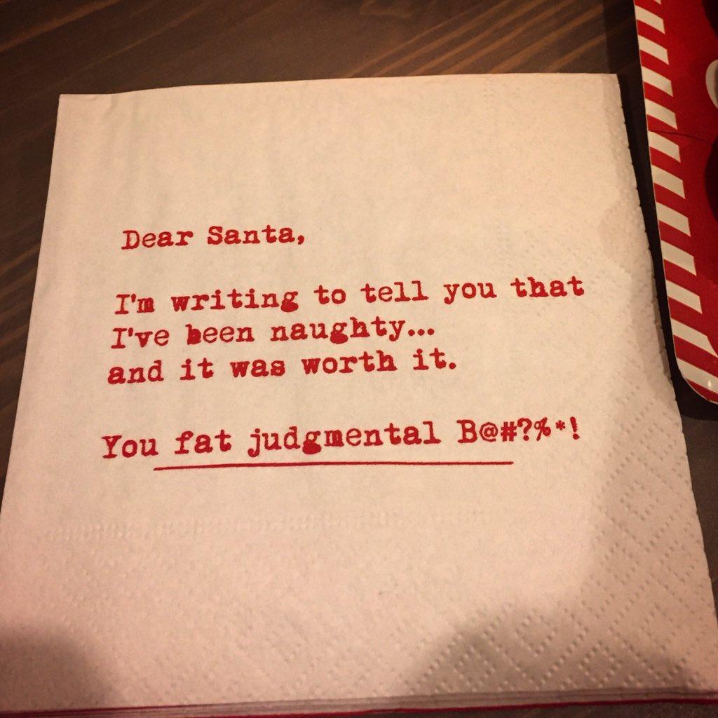 My letter to Santa. Again. https://t.co/9qo8WYuktM