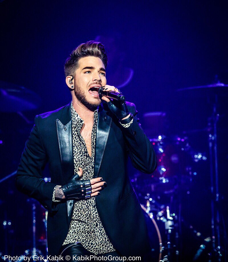 #AdamLambert @adamlambert at @Mix941 #NSSN2015 @TheJointLV @HardRockHotelLV #Vegas #Glamberts @MercedesInTheAM https://t.co/cpx92dTXt7