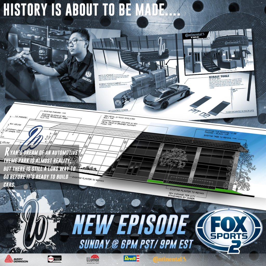 RT @officialwcc: ???????? TONIGHT! Season Premiere #WestCoastCustoms 6PM PST/9PM EST on FOX Sports 2 https://t.co/xgHobj3hsR https://t.co/EyUXUgv…