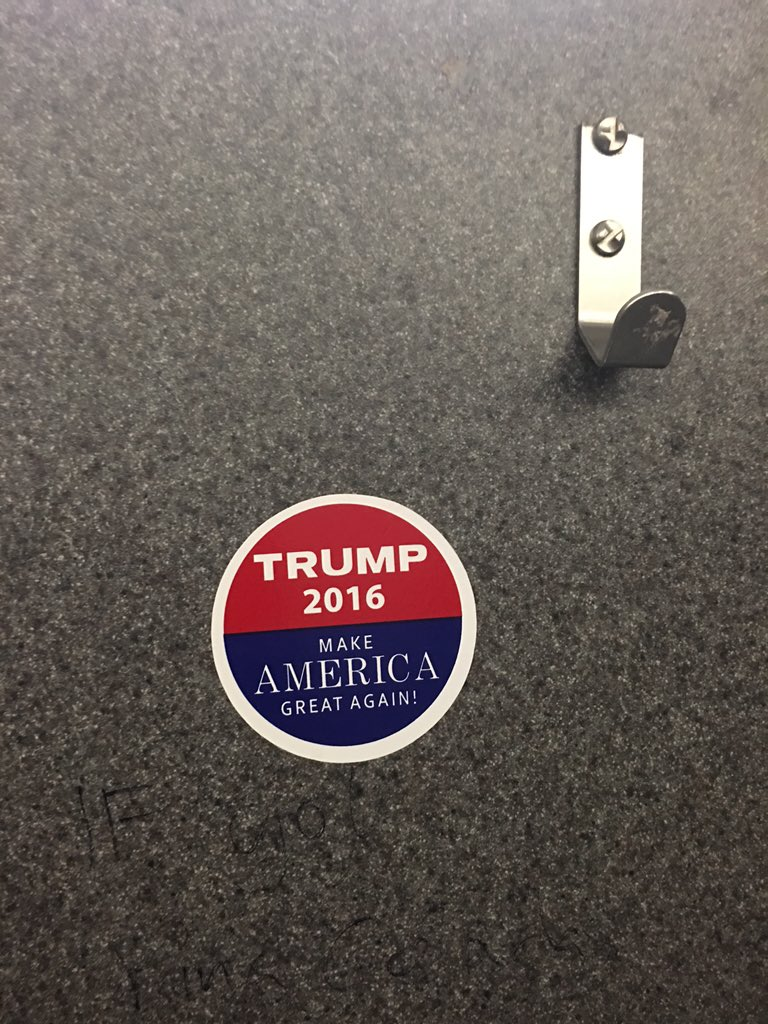 .@realDonaldTrump I found your sticker and moved it somewhere more appropriate. You're welcome. https://t.co/tqH0ct2urs