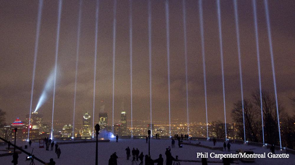 Polytechnique massacre 26th anniversary: 14 spotlights to beam into the sky https://t.co/MoclAi4jua https://t.co/mnsCTiSKvw