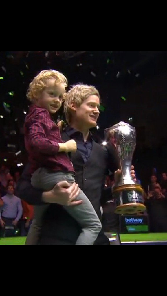 What an Awesome feeling. UK Champion and making a 147 in the final is a dream come true!