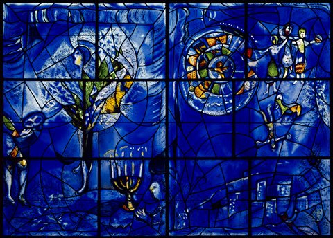 "#HappyHanukkah tonight and through the next eight days. ""America Windows"" 1977 Marc Chagall @artinstitutechi https://t.co/X6N4J6QXwR"