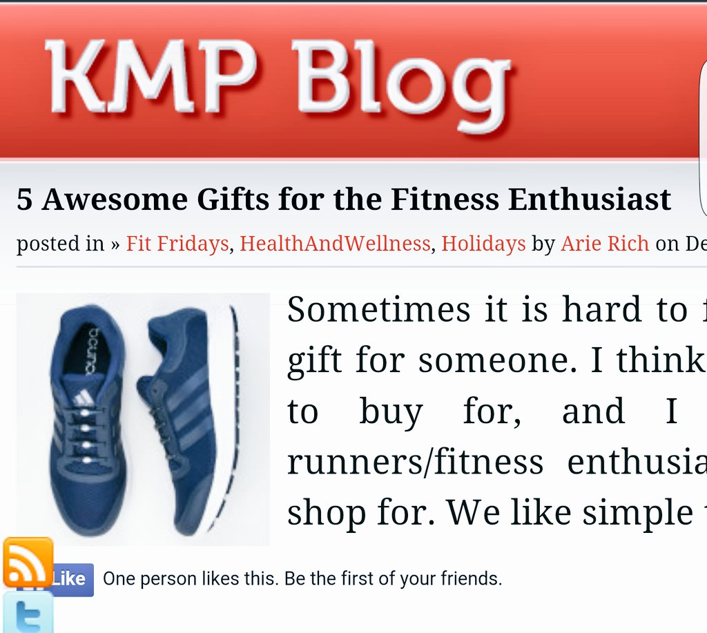 5 Awesome Gifts for the Fitness Enthusiast | https://t.co/NW3B9O3kBO #Runchat #GiftGuide #W3Move #KMPBlog https://t.co/Ko2864jfCB