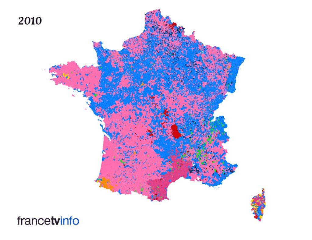 La France de 2010/ La France de 2015 #Regionales2015 https://t.co/Q0AcDB4wqA
