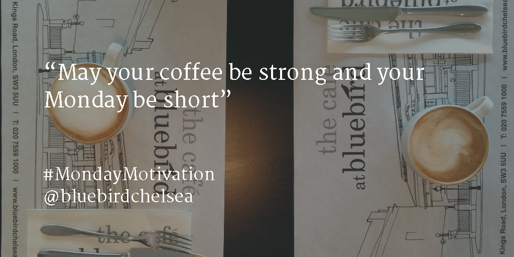 May your coffee be strong and your Monday be short! #MondayMotivation https://t.co/fZedHr0mEM