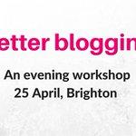 Get practical advice and tips on running a successful #blog in this #Brighton workshop https://t.co/Aw8G1oJ4JZ https://t.co/9UCMZzakIW