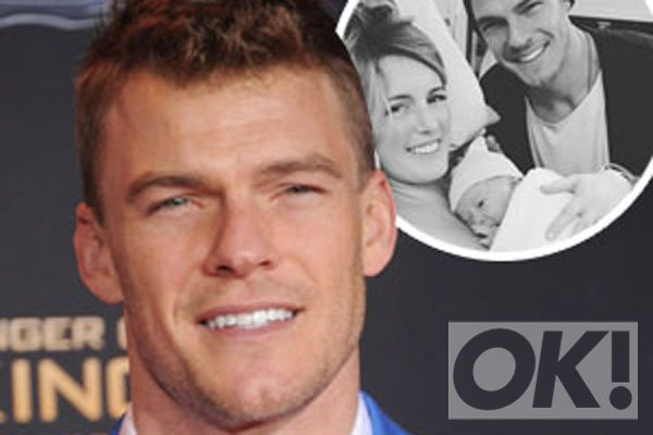 Congratulations are in order for @alanritchson! The Hunger Games star is a dad again!