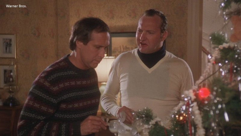 What's your favorite part of 'christmas vacation?' (besides the obvious: cousin eddie's sweater & dickie combo)