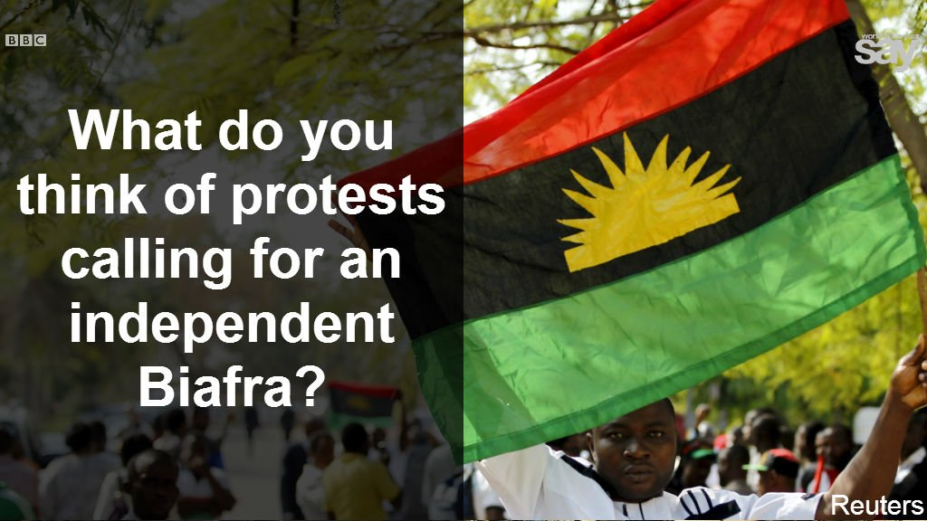 Some people want #Biafra to break away from Nigeria. Do you? Here's some background https://t.co/KEn1HcJlrK https://t.co/f8nUtbNrIq
