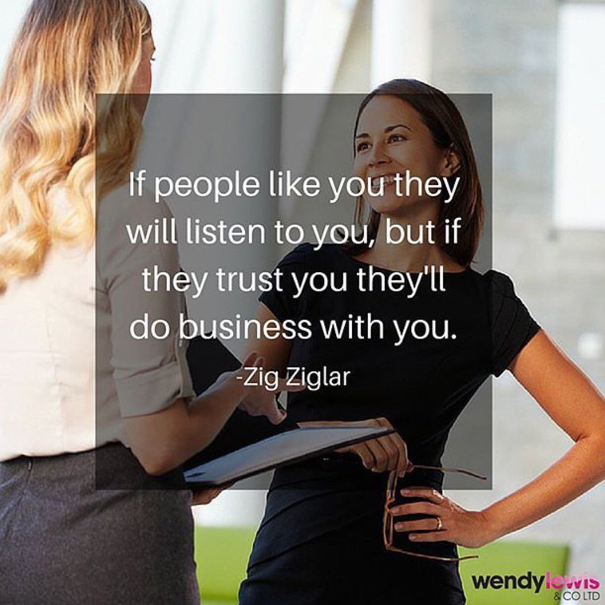 If you've got trust, you've got everything. #QOTD #MondayMotivation