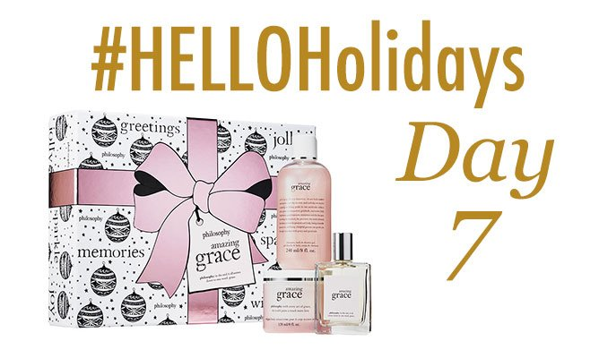#HelloHolidays day 7! RT to win this @lovephilosophy gift set! https://t.co/DoZ3ffuKhE https://t.co/96TyHBWMwG