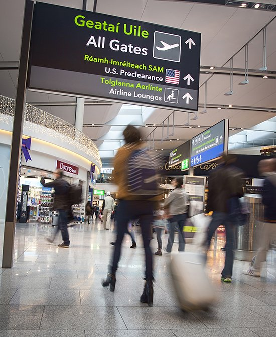 We welcomed 1.8 million passengers through @DublinAirport in November, 16% up over last year