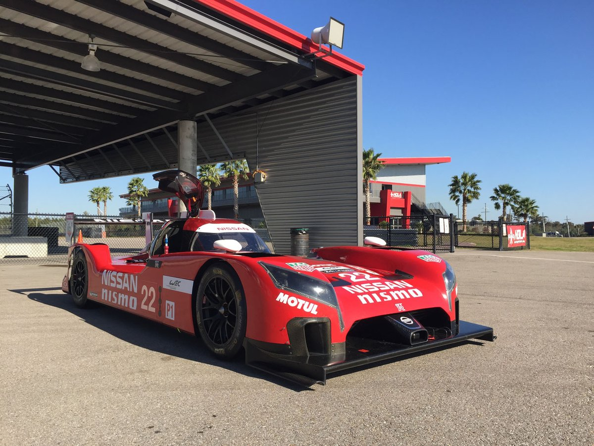 We're kicking off a two day test today for #GTRLeMans at @NOLAMotorsports in preparation for 2016. https://t.co/yLdDh3l6UJ