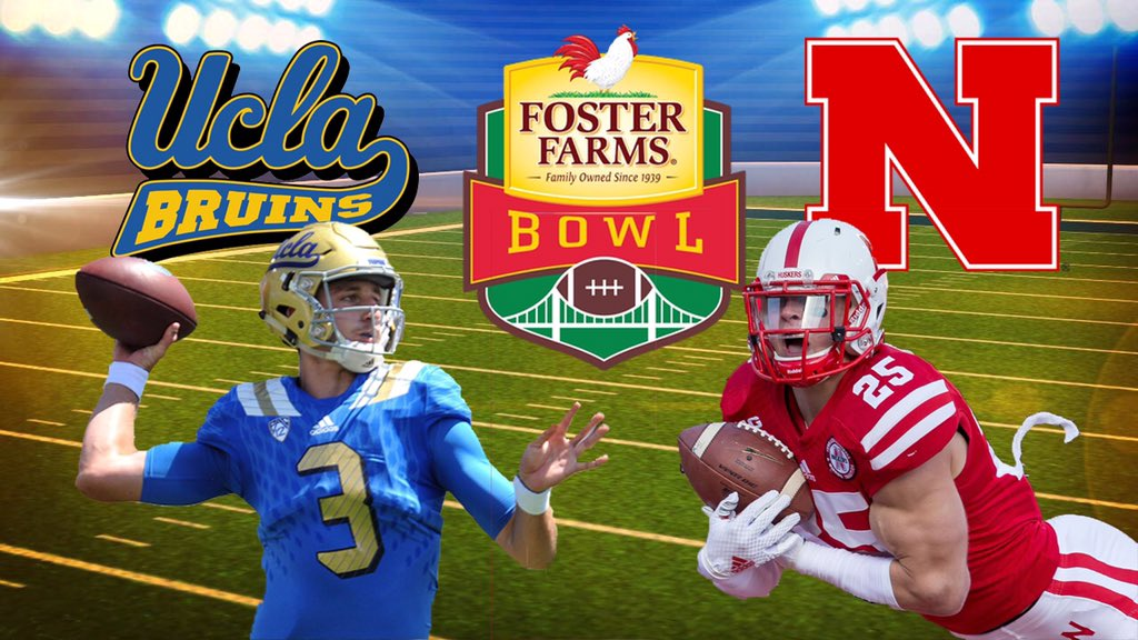 Pls RT. Hey, @Huskers & @UCLAFootball how about making the @FosterFarmsBowl a red on blue affair? Color on color! https://t.co/9ZAmWGkJGR
