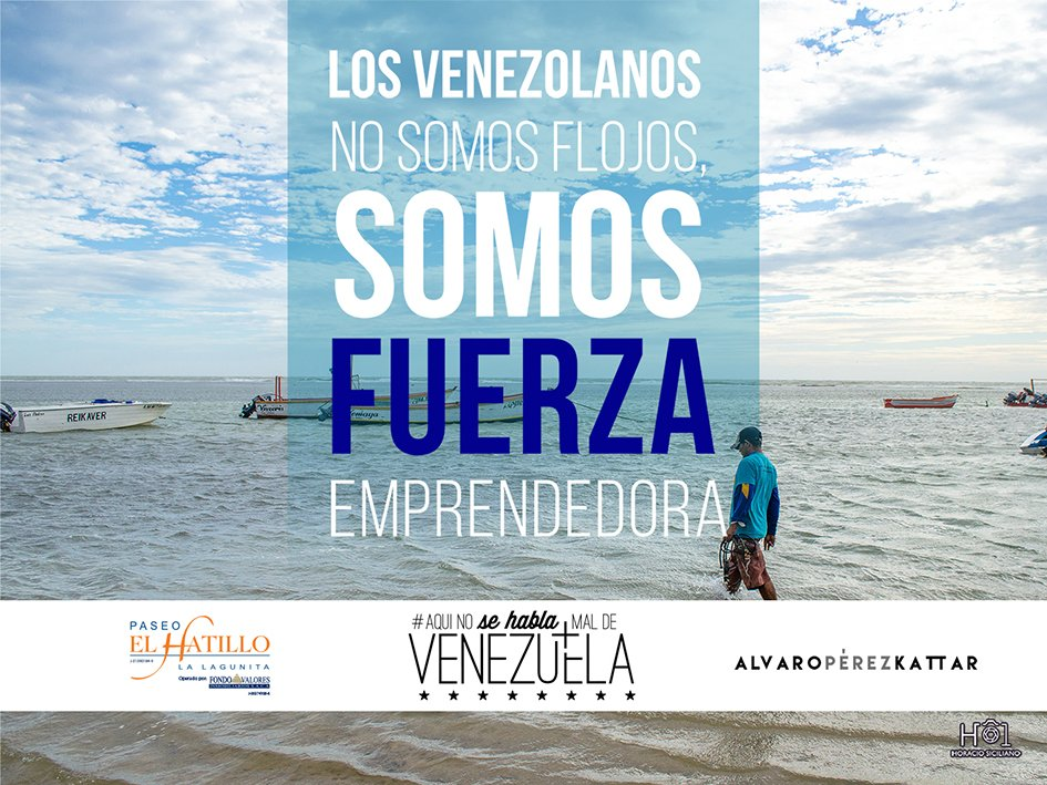 El secreto para emprender,es empezar! #AlvaroPerezKattar Foto @hsiciliano #AquiNoseHablaMaldeVenezuela https://t.co/ooAeRjWtUe