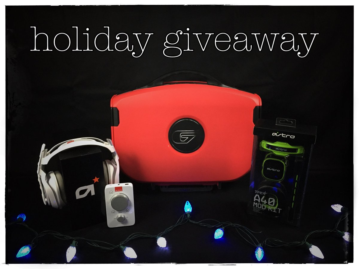 Follow & RT for a chance to WIN this exclusive RED #Vanguard & @ASTROGaming Holiday Bundle! Winner chosen 12/11. https://t.co/5XDE8PeDjK