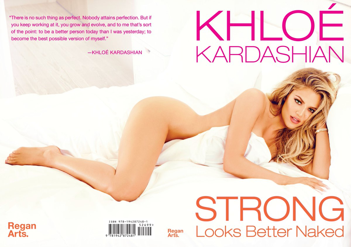 RT @ReganArts: Give the gift of @KhloeKardashian for the holidays. Save 40% on #StrongLooksBetterNaked! https://t.co/TAnkRlVPjf https://t.c…