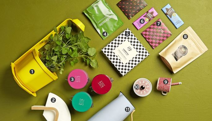 50 inspiring X-mas present ideas. Check our blog for scented surprises & tasty treats