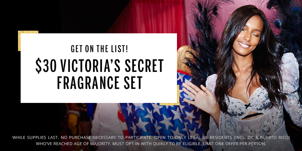 Lights. Camera. Offer!! Celebrate the #VSFashionShow with 5 sexy fragrances! Opt in NOW: https://t.co/yawuRdKy7x https://t.co/yZ9A3wdEU9