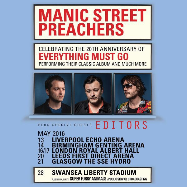 If there was ever an album to celebrate it's this by @Manics. For it happening, it's brilliance and it's triumph