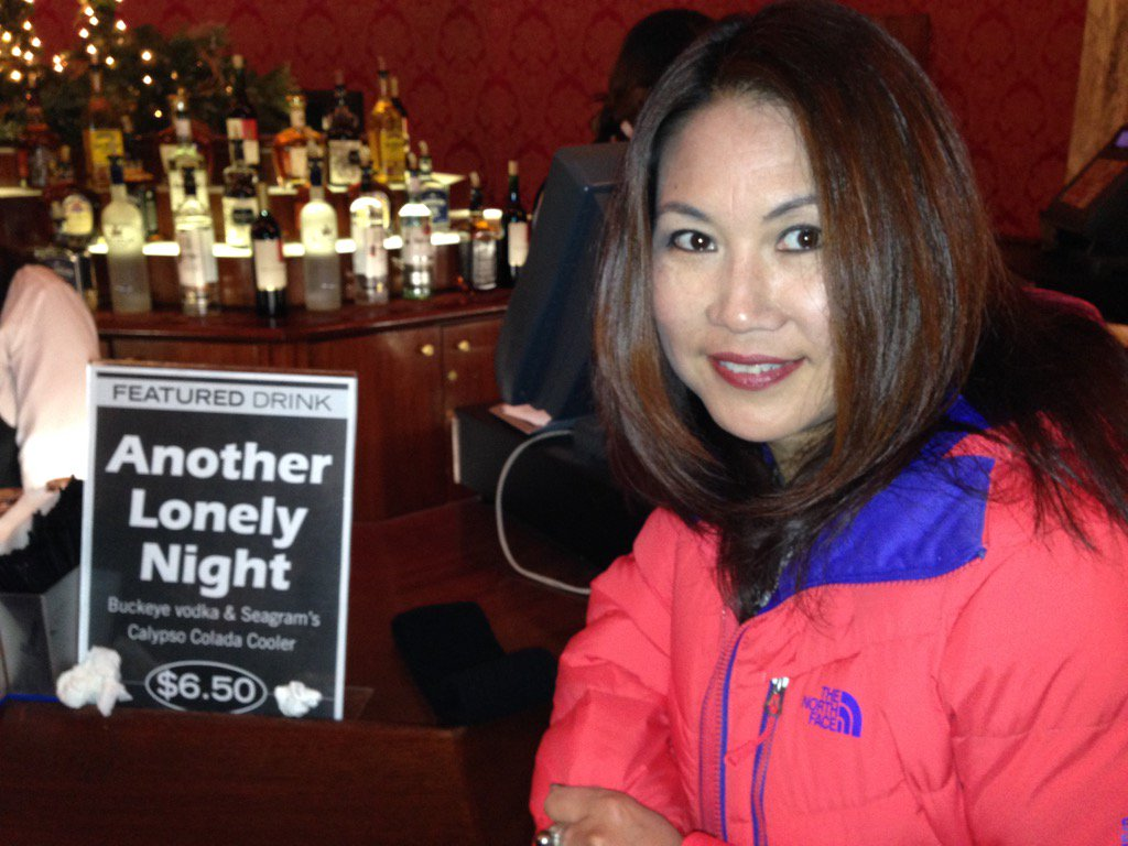 Special featured drink - Another Lonely Night.