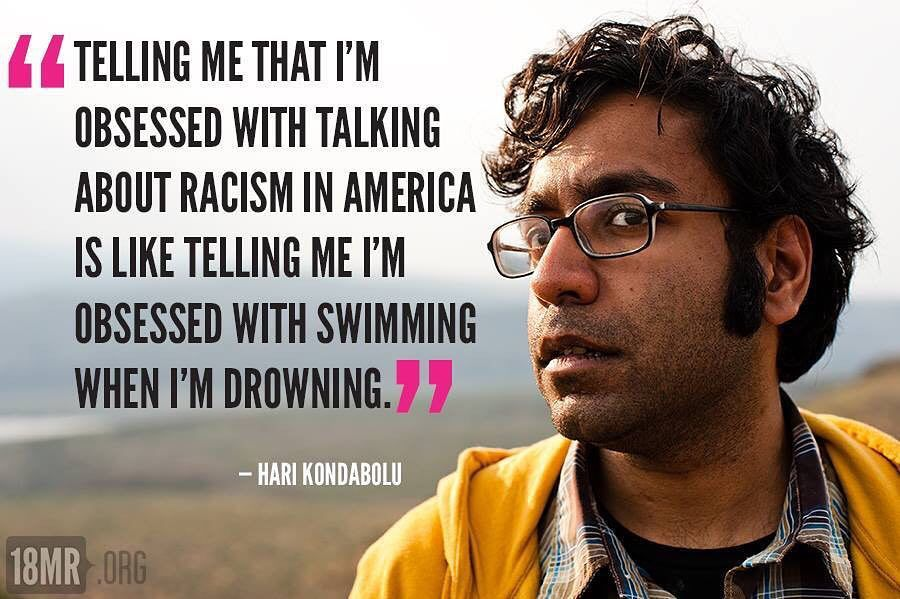 My wife @myshelltabu rocked the house with this #meme from @harikondabolu. #ijs #race #news https://t.co/f8Ifg56JE7 https://t.co/0HxtpkxJV8