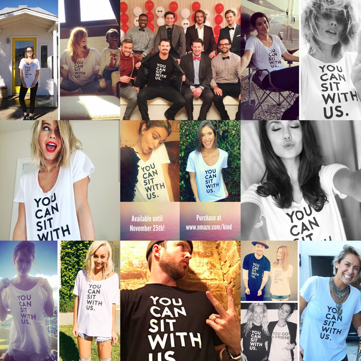Back by popular demand! 5 more days to get your hands on our YOU CAN SIT WITH US tee here: https://t.co/ti8U2EEtiY! https://t.co/EY3ApEUOUq