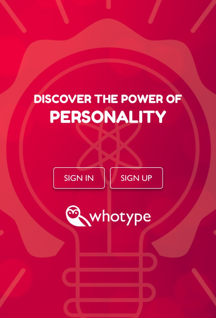 Explore Personality with Whotype.com - cover
