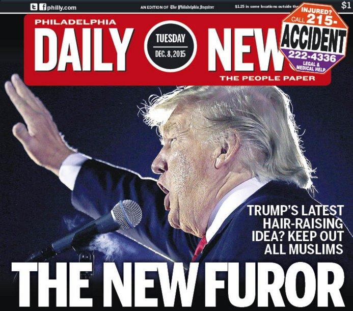 Wow wow. Tomorrow's Philadelphia Daily News. https://t.co/Jv4vpUZabD